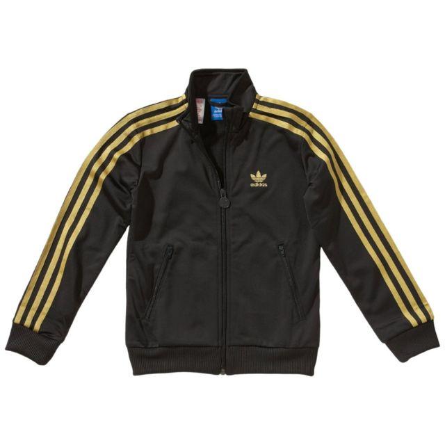 Adidas originals - Veste de survêtement Firebird - Z32257 - pas cher Achat    Vente Survêtement enfant - RueDuCommerce 8682265b615