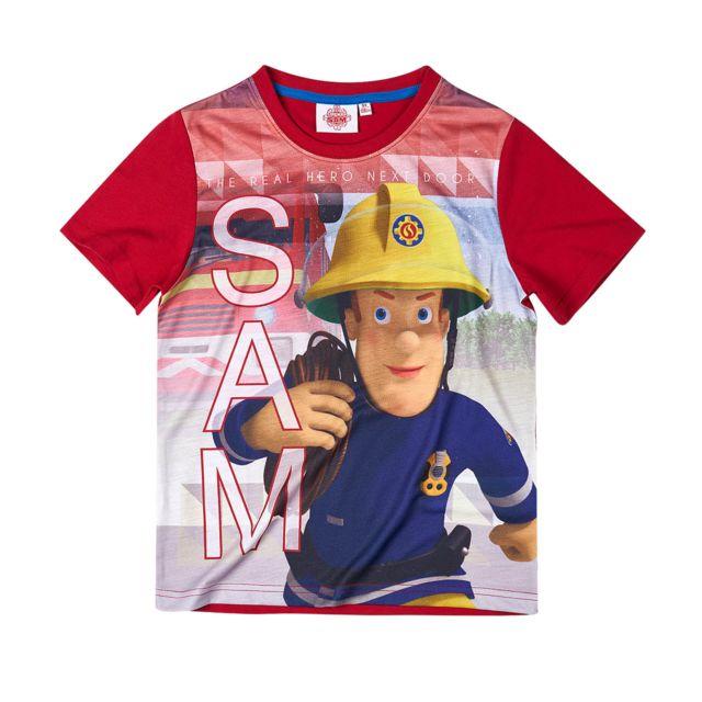 tee shirt adidas pompier