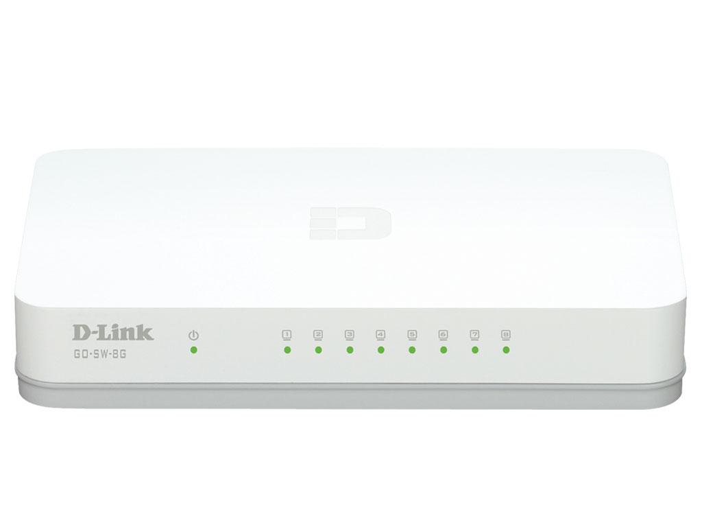 GO-SW-8G - Switch 8 ports Gigabit