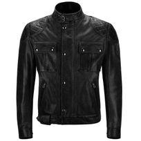 Belstaff - Brooklands Leather Antique Black