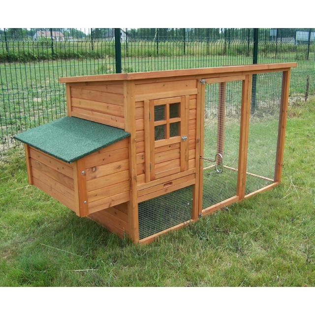 HABRITA FERNIE 150 - Poulailler standard - 1,50 m² - 3/4 Poules