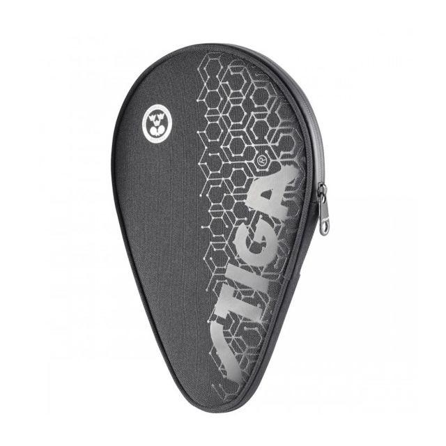 Stiga housse de raquette de ping pong hexagon noir pas cher achat vente accessoires tables - Housse table de ping pong ...
