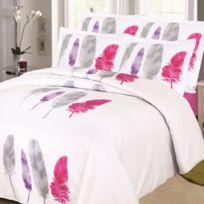linge usine parure de draps pour lit de 140x190 cm - Parure Lit 140x190
