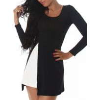 Cendriyon - Robe 2en1 Black and white Lia