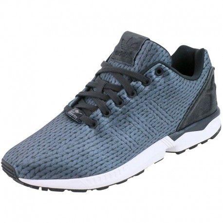 Adidas originals - Chaussures Zx Flux Gris Homme Adidas Noir - pas cher Achat / Vente Baskets homme - RueDuCommerce