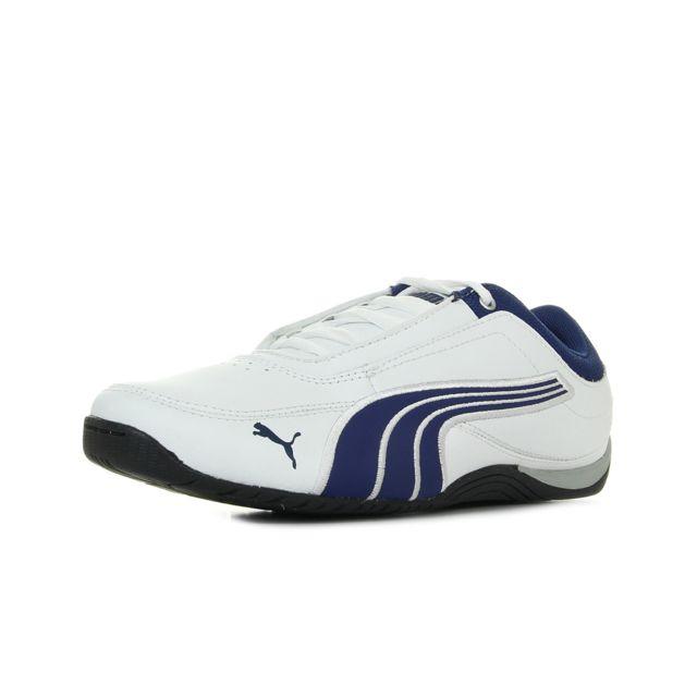8e067a01dd774 Puma - Drift cat 4 leather jr - pas cher Achat   Vente Baskets ...