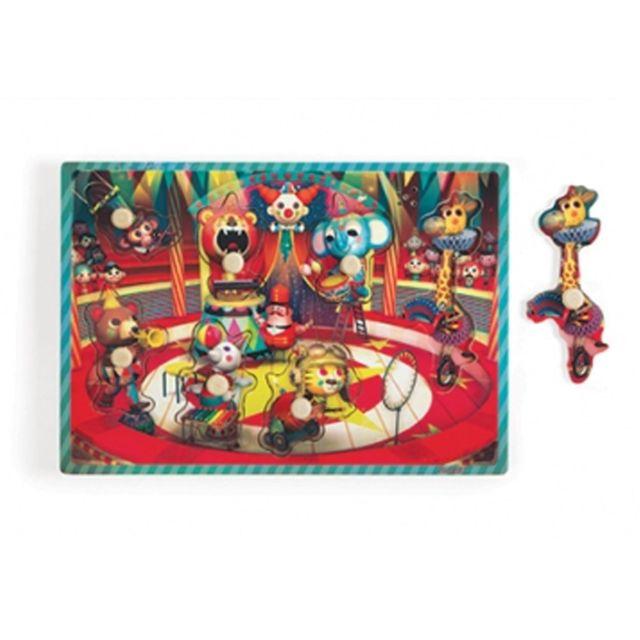 JANOD Puzzle musical Le Cirque Zapatta