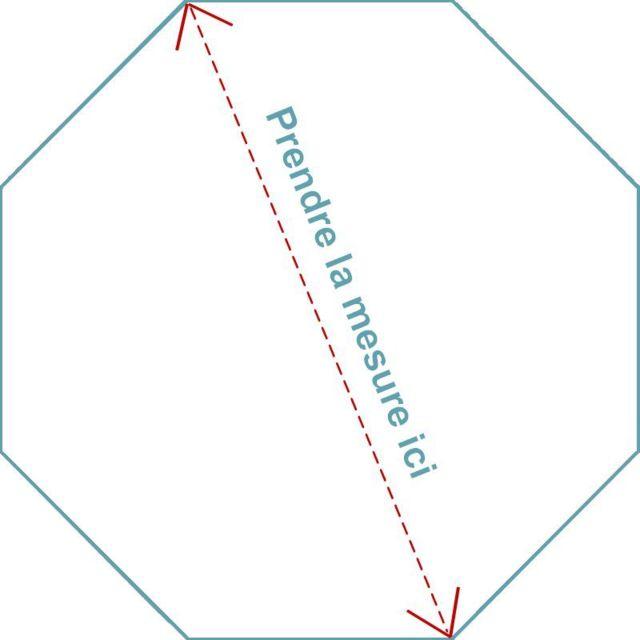 Matelas pour parc hexagonal 120x120