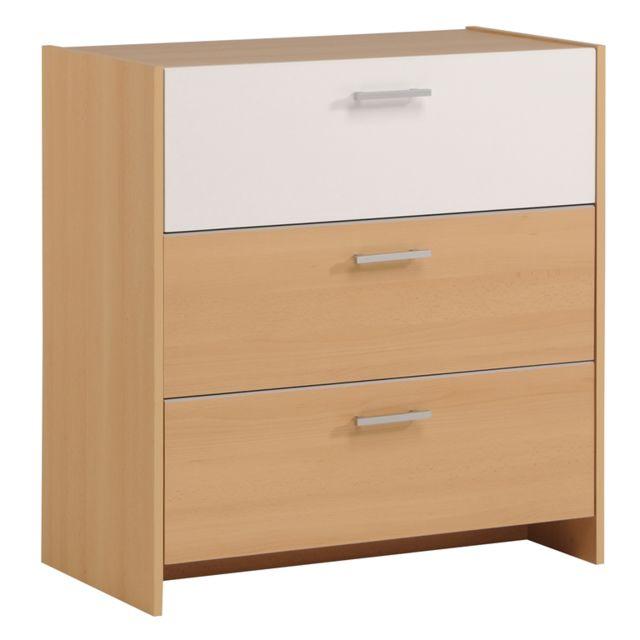 Last meubles commode 3 tiroirs lucas sebpeche31 for Meuble commode tiroirs