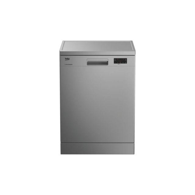 Beko Lap65s2 - Lave Vaisselle Posable - 15 Couverts - 45 Db - A++ - Larg 59,8 Cm - Silver - Moteur Induction Prosmart Inverte