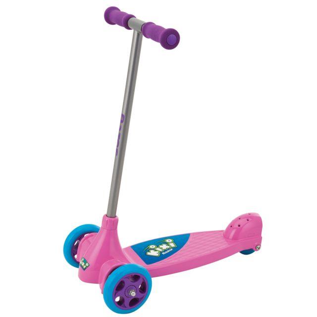 Razor Trottinette Junior : Kix Scooter rose et violet