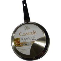 Secret Des Gourmets - Casseroles inox 16 cm