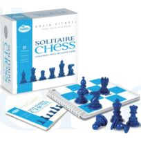 Think Fun - Jeux de société - Solitaire Chess Edition Brain Fitness