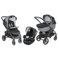 Chicco - Poussette Trio StyleGo Up - Jet Black