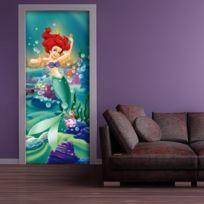Bebe Gavroche - Poster porte Ariel Princesse Disney 90X202 Cm