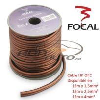 Focal - Es4 - Cable Hp - 2x4mm2 - Ofc - 12m - Serie Elite