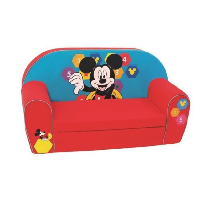 Icaverne FAUTEUIL BEBE - CANAPE BEBE - Mickey Canapé Spectrum