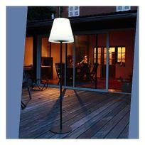 Watt&Home - Lampadaire solaire jardin Led Tournesol