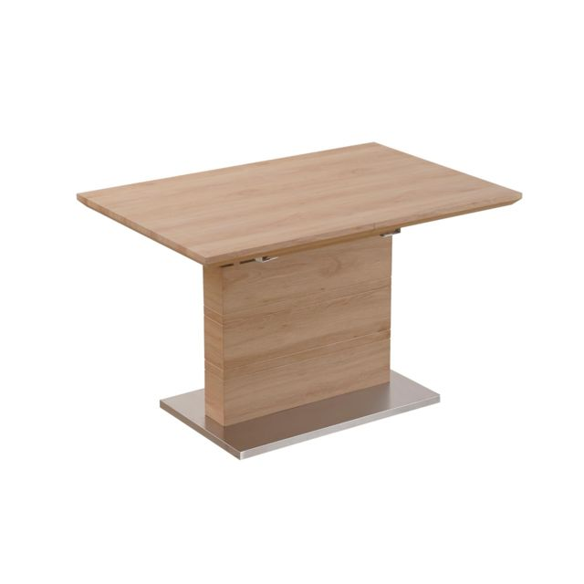 MENZZO Table extensible Archi Chêne Clair