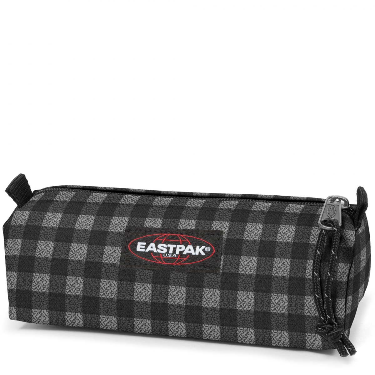 Eastpak - Trousse simple Benchmark 20 cm checksange black