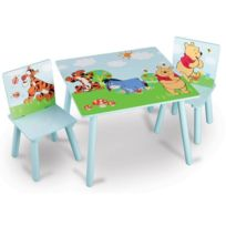 Delta Children - Winnie L'OURSON Table enfant et 2 chaises