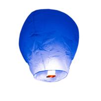 Skylantern - Lanterne Volante Balloon bleu roy