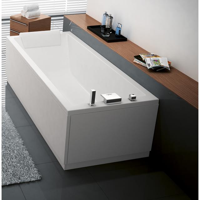 novellini baignoire acrylique calos 170x70 cm pas cher achat vente baignoire rueducommerce. Black Bedroom Furniture Sets. Home Design Ideas