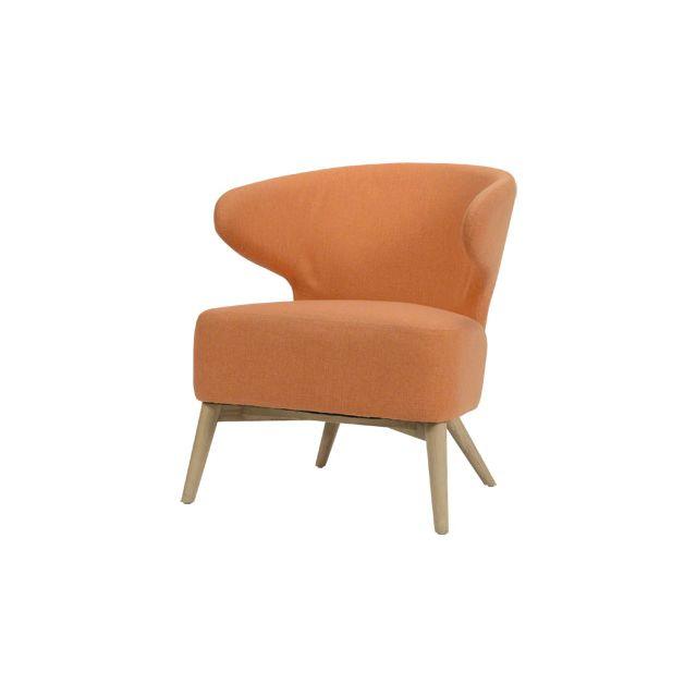 Fauteuil - orange