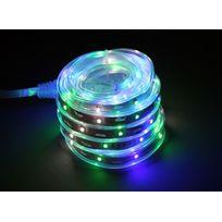 EASYCONNECT - Bandeau lumineux animé LEDS 5 m vert-bleu-blanc EASY CONNECT