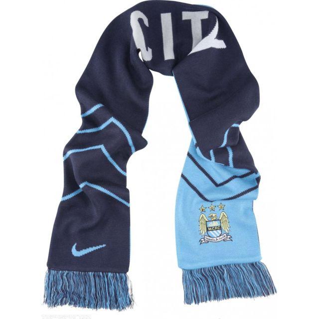 ff48b223959b Nike - Echarpe Manchester City Supporters 2014 2015 - 619340-488 ...