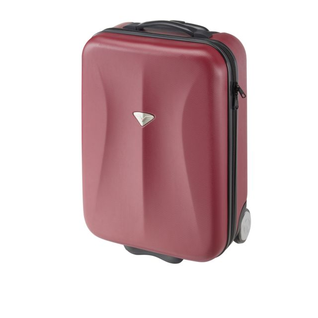 valise carrefour 4 roues CARREFOUR - Valise rigide ABS 2 roues - 51 cm - Rouge