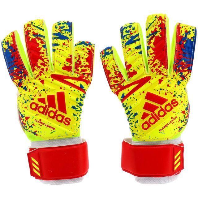 Gants gardien football Classic lea gants gardien Jaune 54881