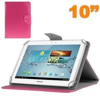 Yonis - Housse universelle tablette 10 pouces ajustable 10.1'' support Rose