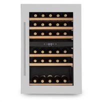 KLARSTEIN - Vinsider 35D Cave à vin encastrable 128L 41 bouteilles porte inox