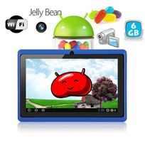 Yonis - Tablette tactile Android 4.1 Jelly Bean 7 pouces capacitif 6 Go Bleu