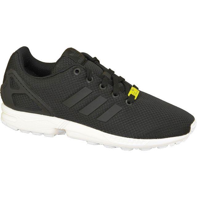 on sale 0bcc5 973fe Adidas - Zx Flux K M21294 Noir - pas cher Achat   Vente Baskets enfant -  RueDuCommerce