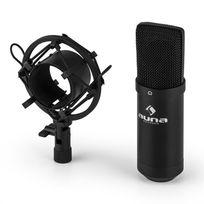 MIC-900B-LED Microphone à condensateur USB Studio -noir