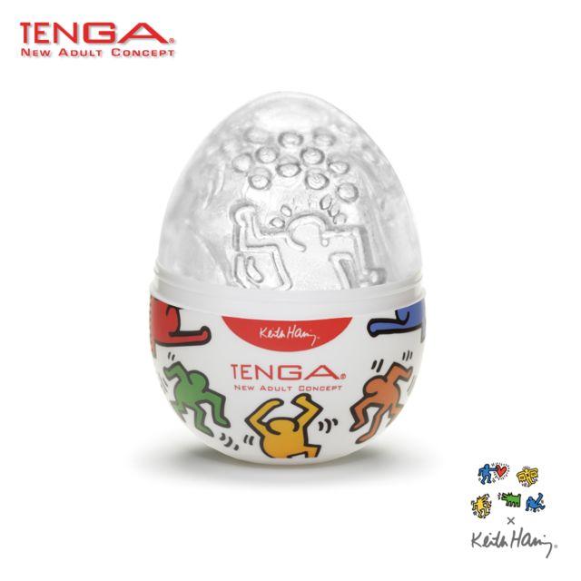 Tenga - Oeuf - Egg Keith Haring Collection Dance Unisexe