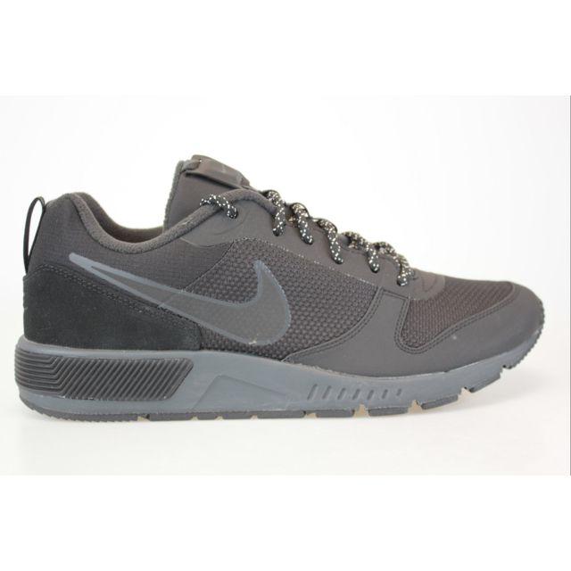 Nike Nightgazer Trail Noir pas cher Achat / Vente Baskets homme