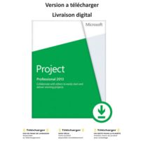 Microsoft - Project 2013 Professionnel - France