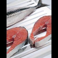 Don Hierro - Grille 100% inox de grande dimension, pour poissons/légumes AbrÁSAME