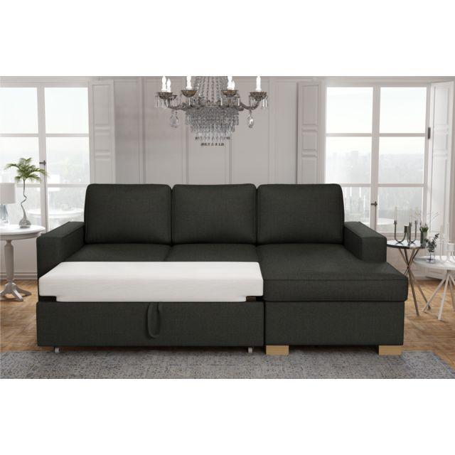 Canapé lit angle gauche de la collection Charme