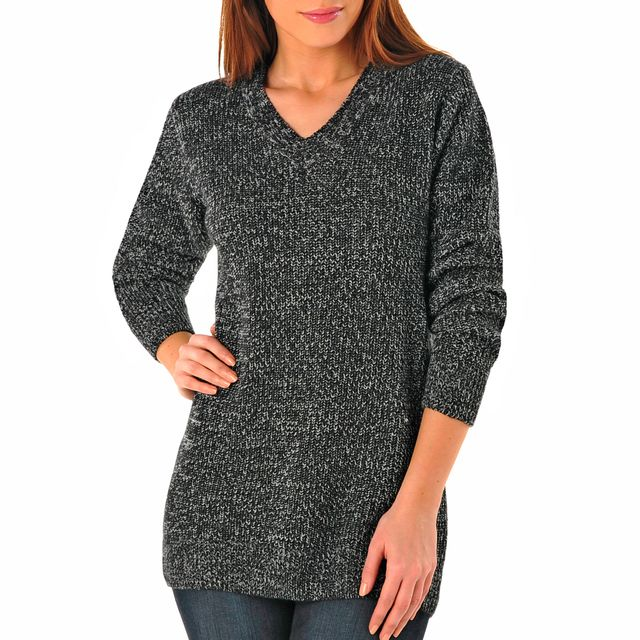 pull femme maille anglaise
