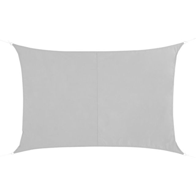 Hespéride Voile d'ombrage Curaçao 2x3 m blanc