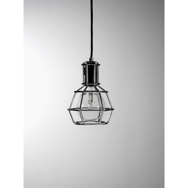Design House Stockholm Lampe Work - chrome