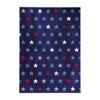 Wecon Home - Tapis Starry Sky Bleu par - Couleur - Bleu, Taille - 80 / 150 cm