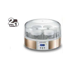 lagrange yaourtiere fromag re 2 en 1 439601 pas cher. Black Bedroom Furniture Sets. Home Design Ideas