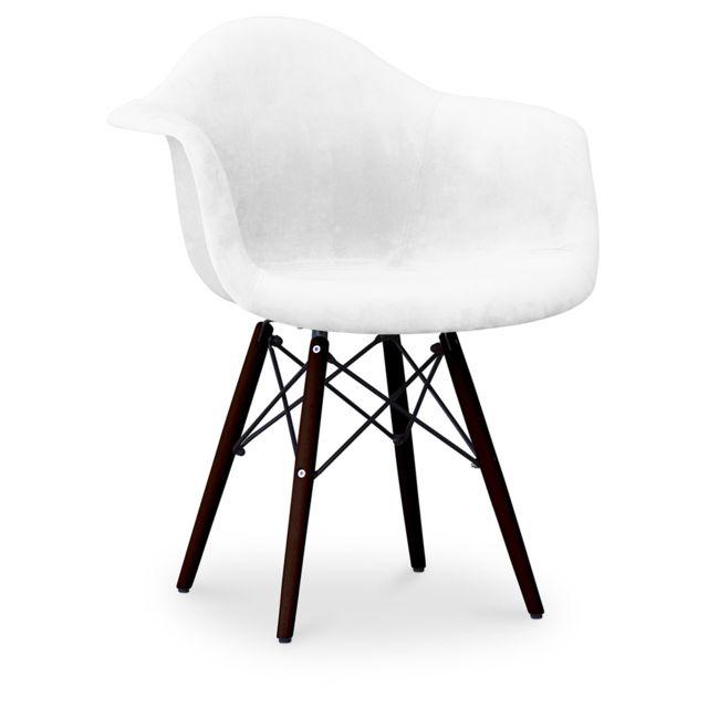 Privatefloor Chaise Daw Charles Eames - Style - piètemente foncé