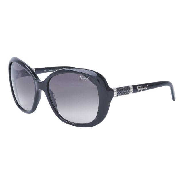 Chopard - Lunettes de soleil Sch-149-S 70Y Femme Noir - pas cher Achat   Vente  Lunettes Tendance - RueDuCommerce 315a50fa7b11