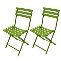 Chaise jardin grosfillex vert - Achat Chaise jardin grosfillex ...
